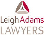 Leigh Adams Lawyers logo
